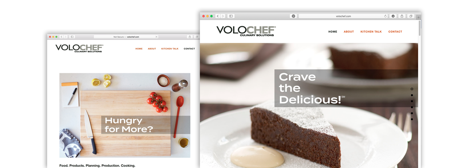 images of Volochef website