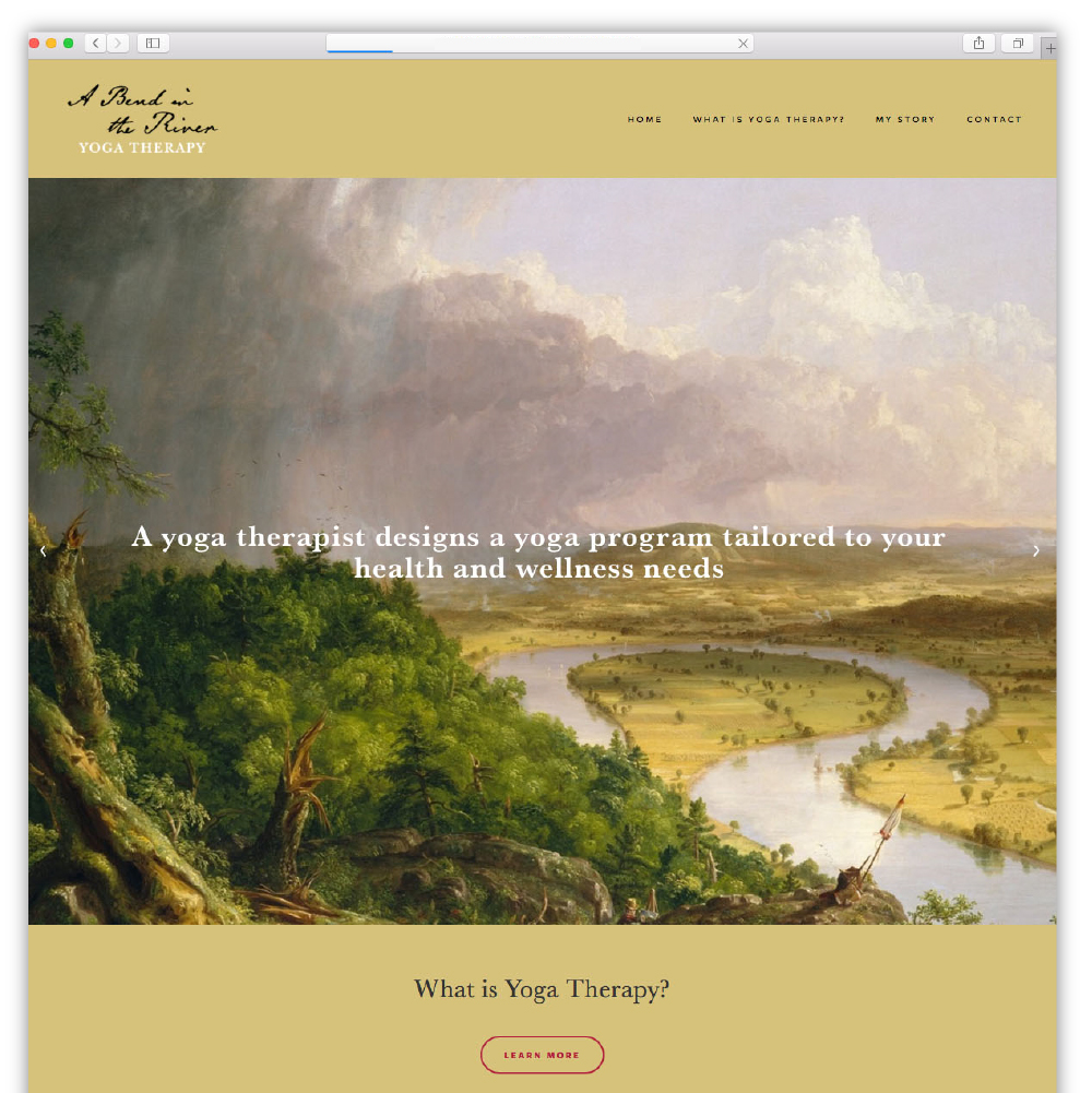 A Bend in the River Yoga Therapy
